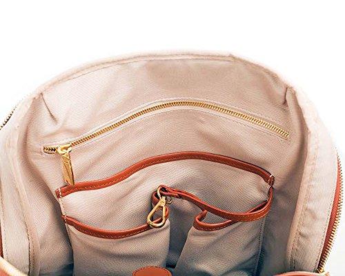 P.MAI , Sac à main porté au dos pour femme, marron (marron) - Valletta Cognac marron