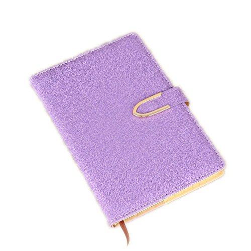 WWDDVH Blocco Note Da Ufficio Business Notebook Pu, Violet