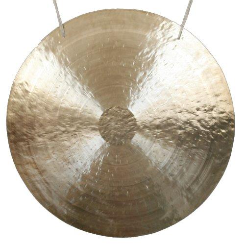 Original Feng Gong, Wind Gong aus China 80 cm, toller Klang, inklusiv Holz-/ Baumwollklöppel -7006-