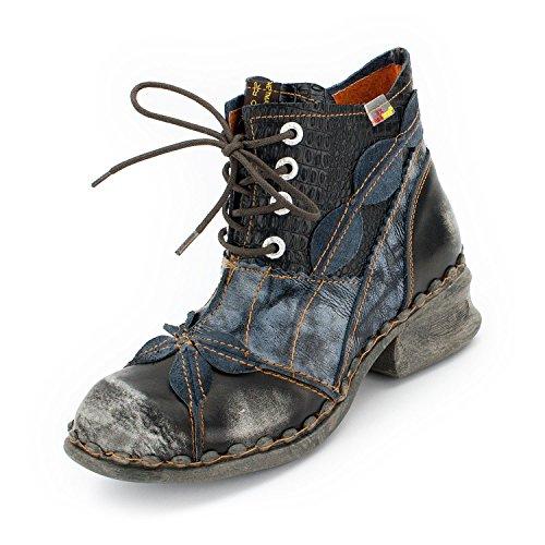 TMA Damen Boots, Perlschwarz - 38