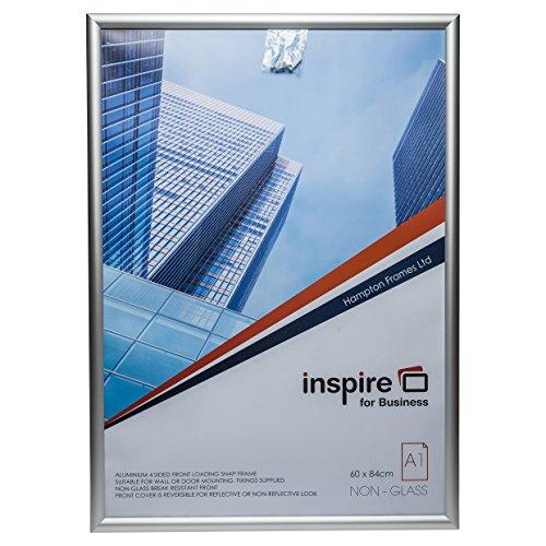 The Photo Album Company SNAPA1S A1 Inspire for Business Schnapprahmen, Aluminium