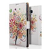 zStarLn® Luxe Portefeuille Housse pour Huawei Honor 5C Coque en cuir Etui + 3 Films en Stylet Touch Pen OFFERTS #3