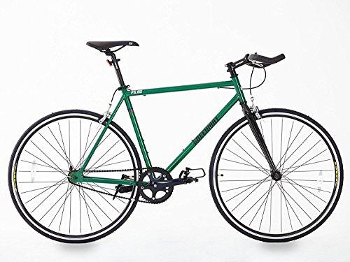 Telaio in acciaio a velocità singola/Fixied Gear Bike, 2016, modello unico, Hi Spec. Verde