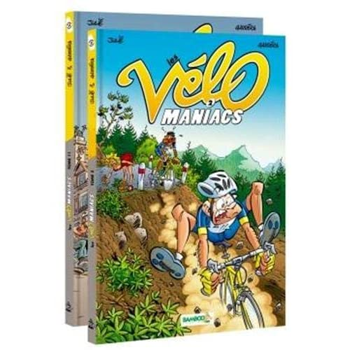 Pack Les Vélomaniacs Tome 02 + Tome 11 offert