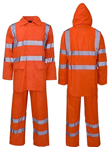 Lamour Herren Anzugjacke Gr. XXXXL, Orange/Rainsuit -