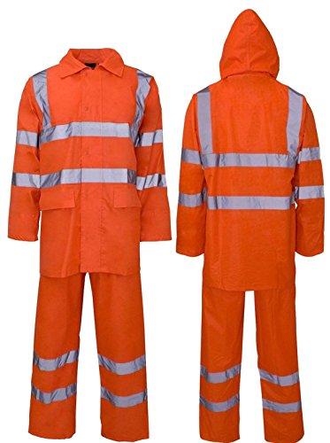 Lamour Herren Anzugjacke Gr. XXXXL, Orange/Rainsuit Orange Rainsuit