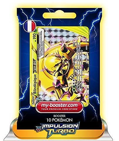 BLINDEPIQUE TURBO 12/162 190PV XY08 IMPULSION TURBO - Booster de 10 cartes Pokemon francaises my-booster