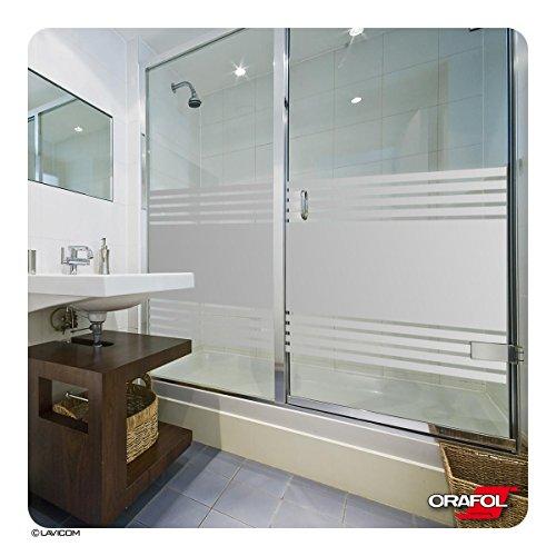 Glasdekorfolie satiniert dusche sauna schwimmbad duschkabine bad ...