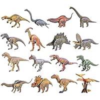 deAO 3D Puzle Figuras de Dinosaurios Modelos 3D Rompecabezas Infantil Maqueta DIY Kit de Construcción (16 Dinosaurios) - Peluches y Puzzles precios baratos