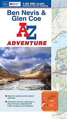 Ben Navis & Glen Coe Adventure Atlas (A-Z Adventure Atlas)