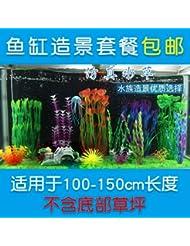 JXC-D'autres plantes d'aquarium aquarium et ornements imitation,Gy08