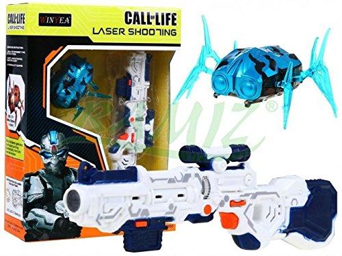 Laser Tag Set Call of Life WINYEA Laserpistolen Nanorobot - Blau (30 Call-kugeln)