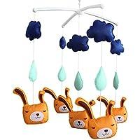 Baby-Geschenk Musik-Mobile,Niedlich Handgemachte hängende Spielzeug,hängen Dekor preisvergleich bei kleinkindspielzeugpreise.eu