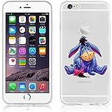 Ronney de Disney Soporte de Winnie the Pooh & Friends funda TPU suave transparente para Apple iPhone 5/5S/se 6/6S y 6+/6+ S, plástico, rosa, APPLE IPHONE 6/6S