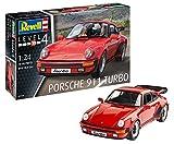 Revell 07179 Modellbausatz, Auto 1:25-Porsche 911 Turbo, Level 4, orginalgetreue Nachbildung mit vielen Details-07179