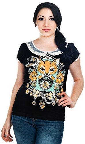 Banjo & Cake -  T-shirt - Donna nero Large