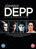 Johnny Depp Collection (4 Dvd) [Edizione: Regno Unito] [Edizione: Regno Unito]