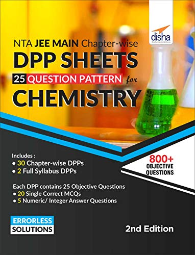 NTA JEE Main Chapter-wise DPP Sheets (25 Questions Pattern) for Chemistry 2nd Edition