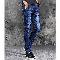 TT&MEN'S PANTS Herrn Normal Einfach Mittlere Hüfthöhe Mikro-elastisch Lose Jeans Hose, Baumwolle Frühling Solide , 27