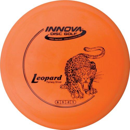 Innova DX Leopard Golf Disc (Farben können variieren), Verschiedene Farben, 170-172 gram Flying Leopard