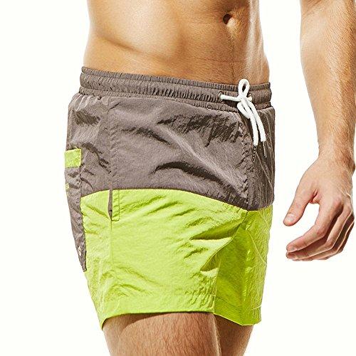 Doreleven Bañador Hombre Cosiendo Playa Deportiva Pantalon