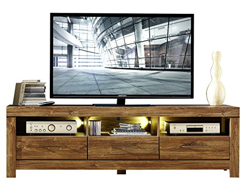 Peter GTCC901031 TV-Unterteil, Holz, braun, 54 x 200 x 60 cm