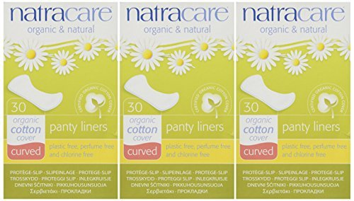 Panty Liners Curved 30ct - Panty Liner ( Pack of 3) by Natracare (3-pack-panty)