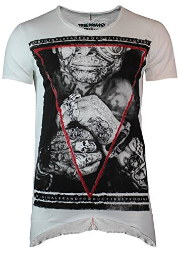 Trueprodigy Triangle Death Male Shirt Off White