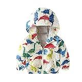 Babykleidung Set,Beikoard KinderBaby Langärmeliger Bedruckter Trenchcoat mit Pocket Cardigan Kinder Kapuzenjacke mit Reißverschluss