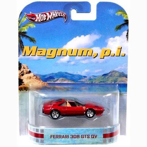 Hot Wheels Magnum, P.I. Ferrari 308 GTS QV Die Cast Car