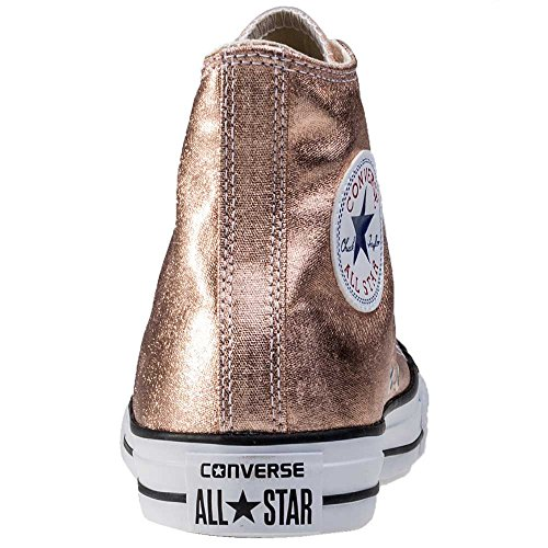 Converse Chucks 553346C CT AS Sting Ray cuir Argent Argent Pur Noir Blanc metallic sunset/glow white