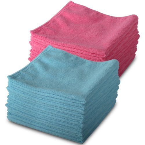 20-pack-of-genuine-exel-10-pink-10-blue-microfibre-magic-cleaning-cloths-chemical-free-cleaning-anti