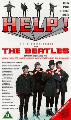 Price comparison product image The Beatles - Help! - Plus Unseen Footage [1965] [VHS]