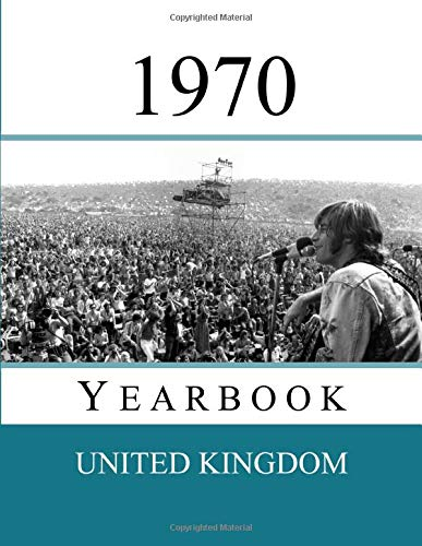 1970 UK Yearbook: Original book full of facts and figures from 1970