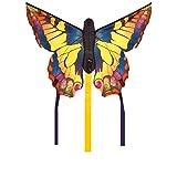 Invento 100300 - Butterfly Kite Swallowtail R Kinderdrachen Einleiner, Ab 5 Jahren, 34 x 52 cm und 2 x 3 m Drachenschwanz Ripstop-Polyester 2-4 Beaufort