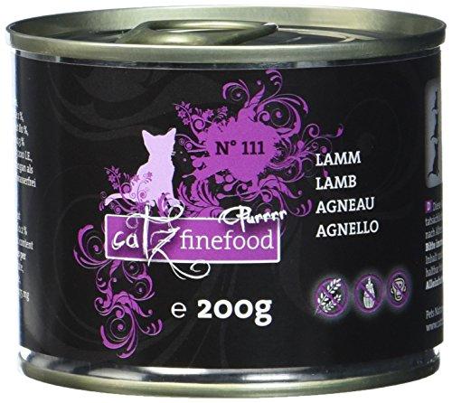 Catz finefood Purrrr No 111 Lamm, 6er Pack (6 x 0.2 kg) -