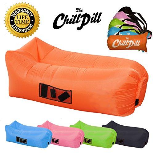 Aufblasbare Liege Sofa Blow Up Schlafsack Hängematte Air Matratze. Ideal  Für Camping, Angeln,