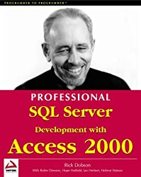 Professional Sql Server Development with Access 2000