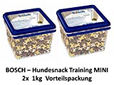 bosch Dog Snack Training Mini | 2X 1kg Hundesnack Sparpackung
