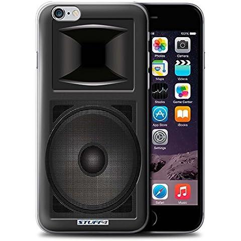 Custodia/Cover Rigide/Prottetiva STUFF4 stampata con il disegno Progettazione dei diffusori per Apple iPhone 6 - Monitor da studio