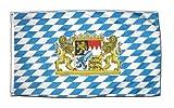 XXL Flagge Fahne Deutschland Bayern mit Löwe 150 x 250 cm