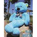 ToyBulk 6.5 Feet Teddy Bears 78 Inch Blue Colour Birthday + Wedding Gift Special