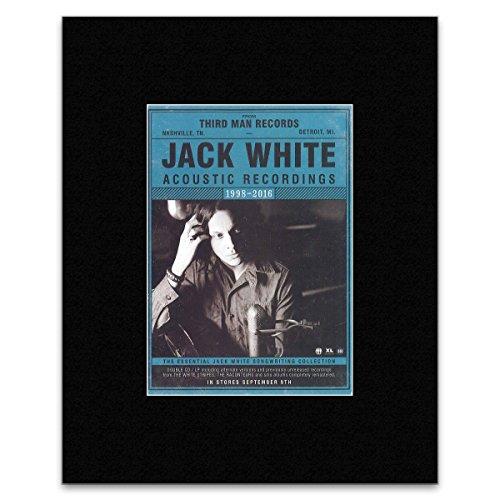 Unbekannt Jack White Mini-Poster Acoustic 1998-2016, 40,5 x 30,5 cm