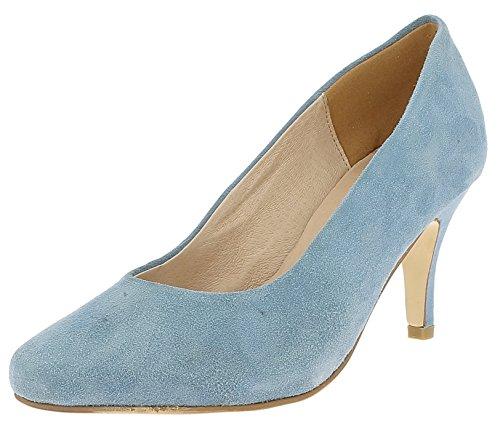 Andrea Conti Damen 0598504 Pumps h.blau