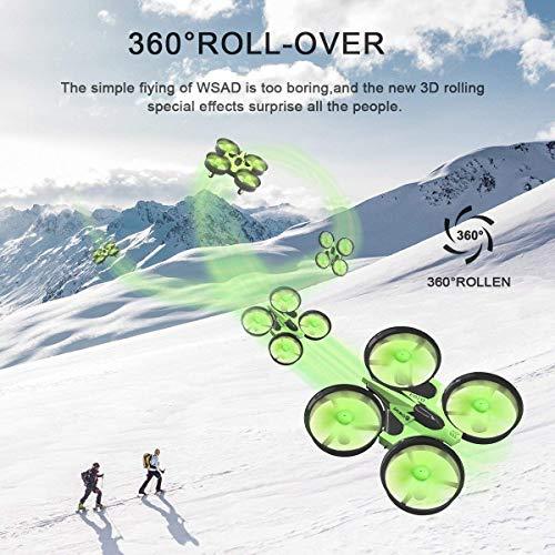 Mini Quadrocopter Drohne, EACHINE E010 Mini Drone RC Quadcopter Spielzeug und Geschenk für Kinder Anfänger - 6