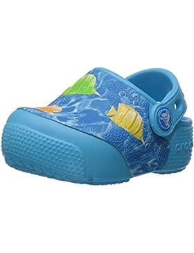 crocs Unisex-Kinder Funlabltfshclg Clogs