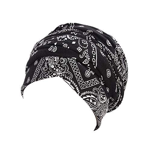 Kinlene Damen Mütze Muslim Hijab Wrap Kopftuch Krawatte Hut Headwear