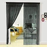 Hsylym - Rideaux décoratifs de séparation à fils pour chambre à coucher, porte ou...