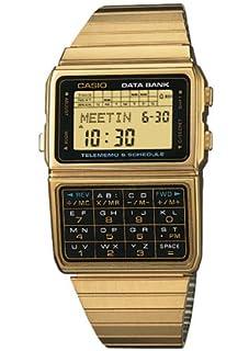 Casio Retro Data Bank Watch - Gold (B000N9FFUI) | Amazon price tracker / tracking, Amazon price history charts, Amazon price watches, Amazon price drop alerts