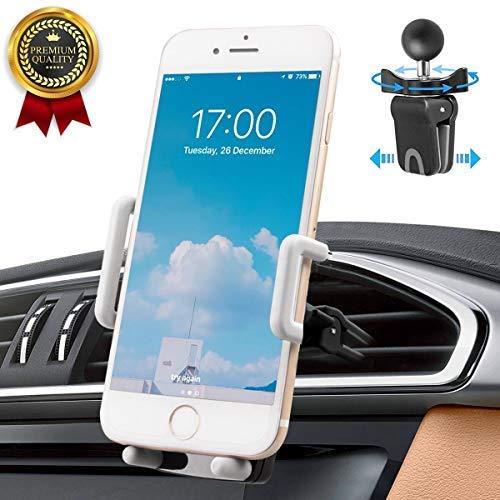 Handyhalterung Auto Avoalre handyhalter fürs Auto Handyhalter KFZ Lüftung Belüftung Handy Autohalterung [360 Grad] Kompatibel mit Phone Samsung Galaxy LG Nexus Sony HTC Motorol Golf 6 und mehr